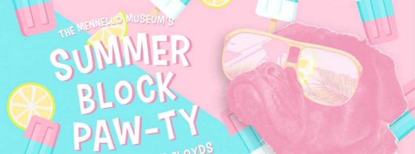 Summer Block Paw-ty