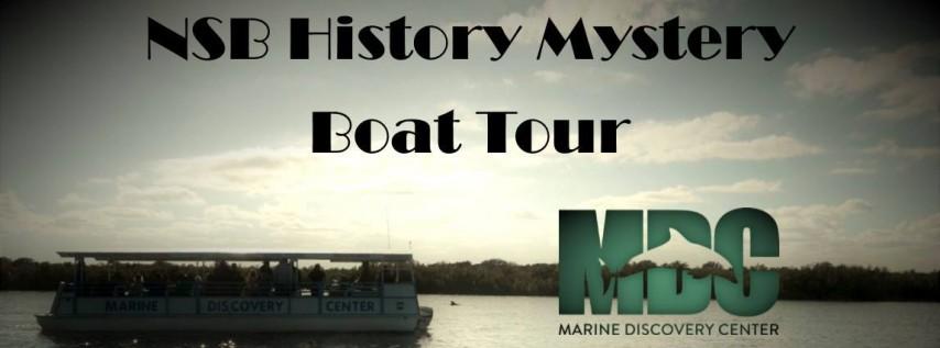 NSB History Mystery Boat Tour