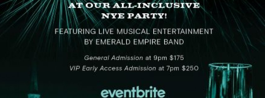 New Years Eve 2019 Bash at Peregrin Rooftop Bar