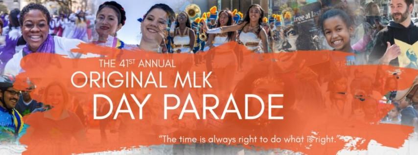 The Original MLK Day Parade