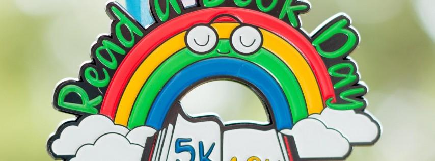 Read a Book Day 5K & 10K - Take a Look, It's in a Book -Fayetteville