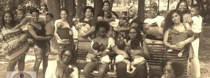 Black Breastfeeding Week Photoshoot