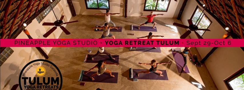 Luxury Yoga Retreat Tulum Mexico with Pineapple Yoga Studio