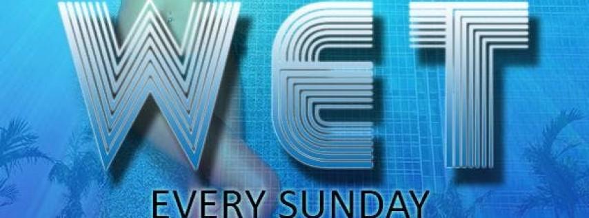 WET Miami Pool Parties Sundays