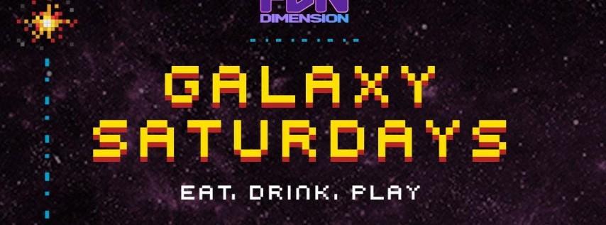 Galaxy Saturday at Wynwood's FunDimension
