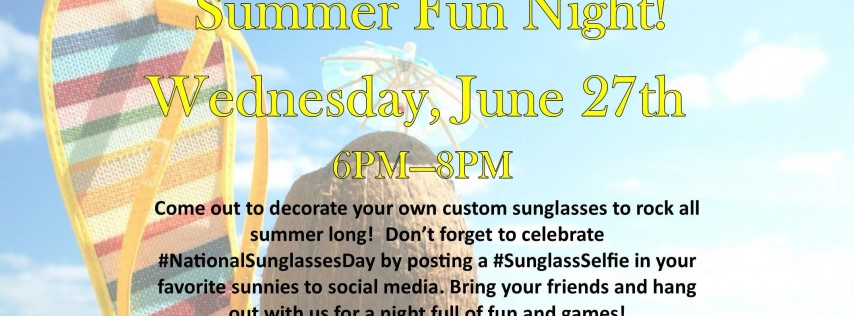 Youth Center Summer Fun Night