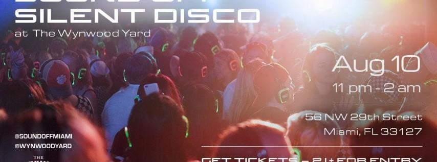 Sound Off™ Silent Disco @ The Wynwood Yard