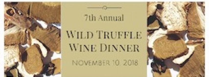 7th Annual Wild Truffle Wine Dinner