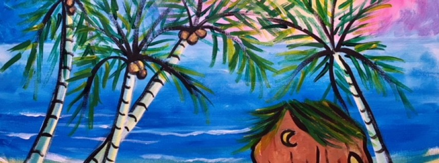 You Are an Artist: Sip n Paint Party August 24 at Studios of Cocoa Beach