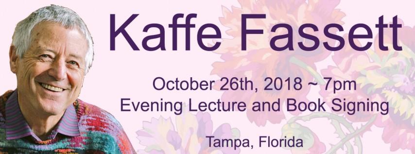 International Artist Kaffe Fassett comes to Tampa!