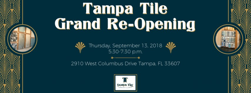 Tampa Tile: Grand Showroom Re-Opening