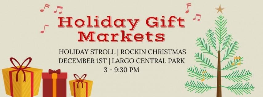 Largo Park Holiday Gift Market