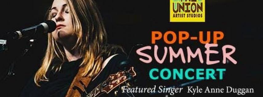 Pop Up Summer Concert