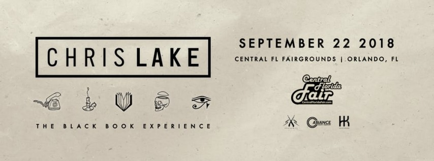 The Black Book Experience: Chris Lake at Fairgrounds Warehouse