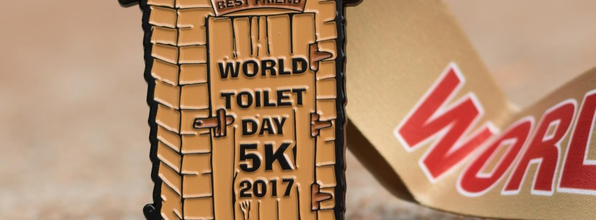 Now Only $9.00! World Toilet Day 5K! -Tampa