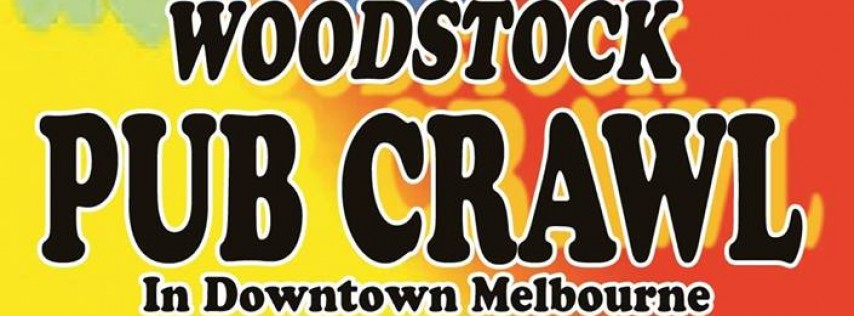 Woodstock Pub Crawl Downtown Melbourne 2018