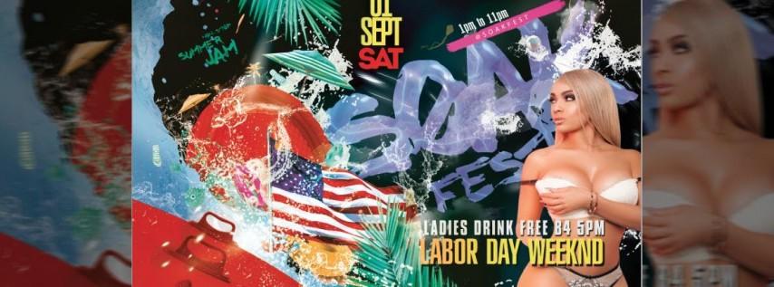Soak Fest Miami Labor Day Pool Party