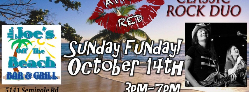 April Red ROCKS Sunday Funday at Mr. Joe's Off The Beach!