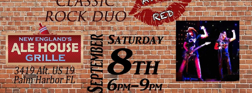 April Red is BACK at New England's Ale House in Palm Harbor!