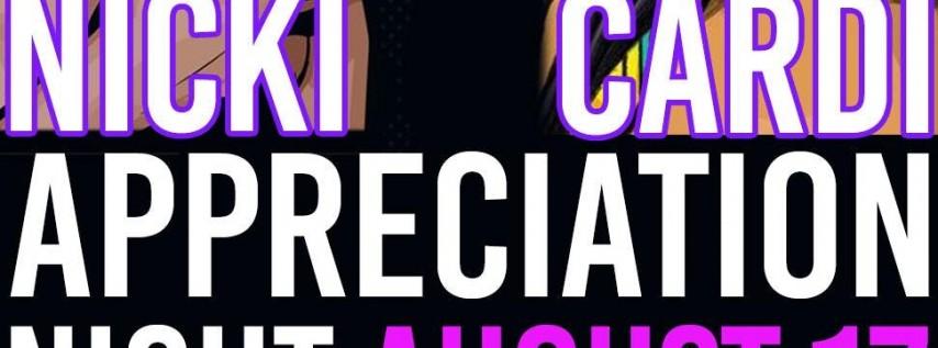 Nicki V Cardi: Appreciation Night with Dj Kay Cali, DJ Zetroc @ Empire