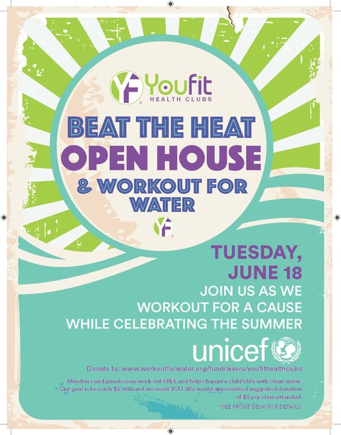 Beat The Heat. Work Out For Free