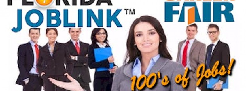 OCALA / GAINESVILLE CAREER FAIR - FLORIDA JOBLINK