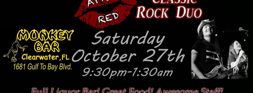 April Red LIVE at The Monkey Bar Clearwater!