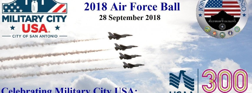 JBSA Air Force Ball 2018