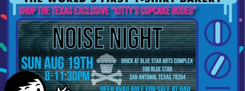 Johnny Cupcakes Cake Dealer x Noise Night Pop-Up