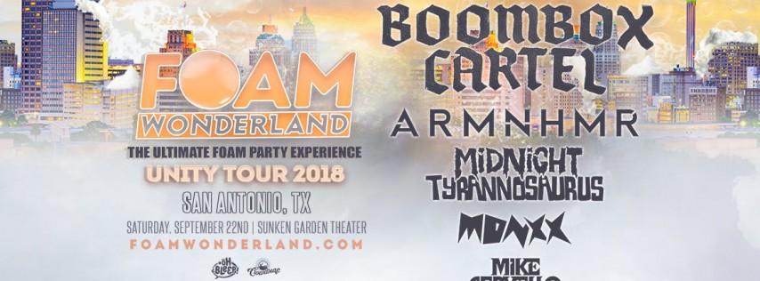 Foam Wonderland - San Antonio, TX - Unity Tour 2018