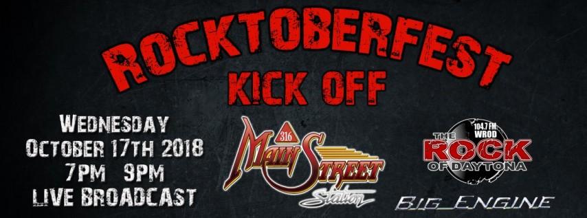 Rocktoberfest Kick Off Party