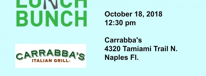 Lunch Bunch with PASFI at Carrabba's
