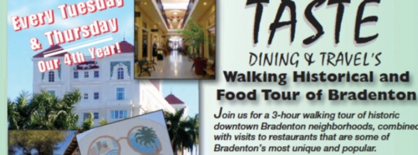 Taste Magazine's Walking Food & History Tours