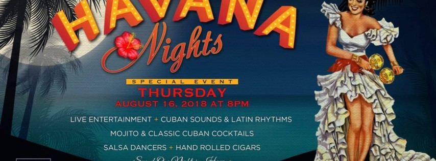 Havana Nights - Blue Martini Brickell