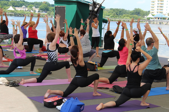 'It's Just Yoga' Health & Fitness Festival