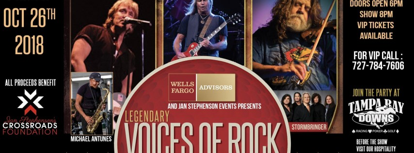 Wells Fargo Advisors and JSE Presents The Legendary Voices of Rock Concert