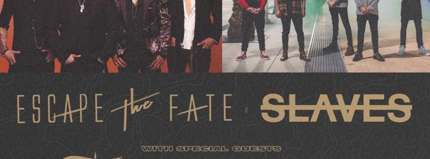 Escape The Fate - Slaves @ The Orpheum