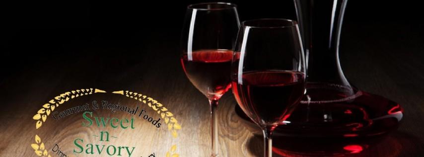 Free Wine Tasting - Sweet n Savory Cafe