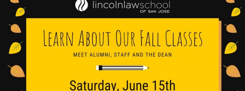 Lincoln Law School Info Session