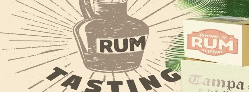 Summer of Rum Island Tasting Party