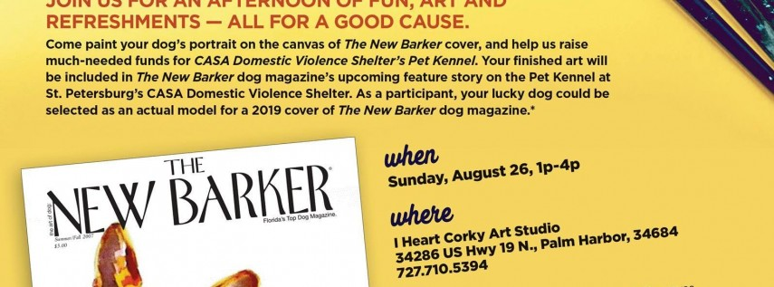 Paint Your Pet For A Cause