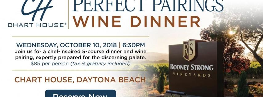 Chart House Rodney Strong Wine Dinner - Daytona Beach, FL