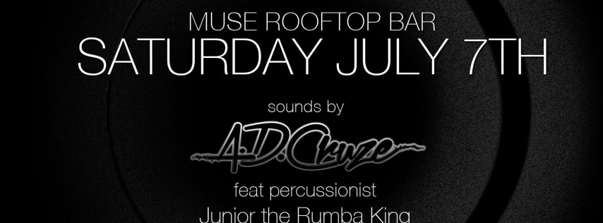 Circ Hotel Muse Rooftop Saturday