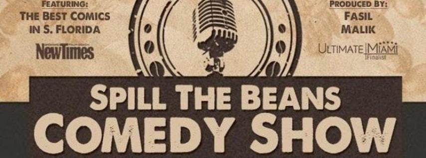 Spill the Beans Comedy Show- Gene Harding
