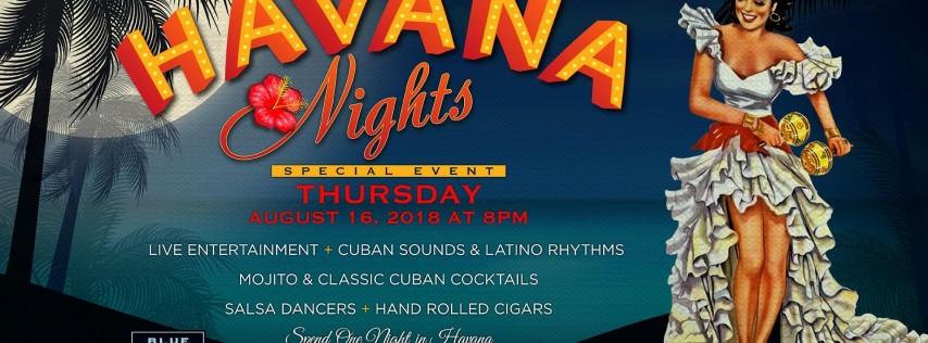 Blue Martini Orlando Presents Havana Nights