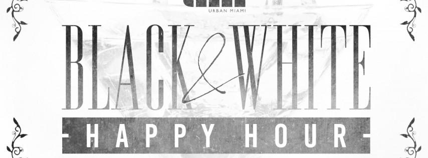 Black & White Happy Hour!