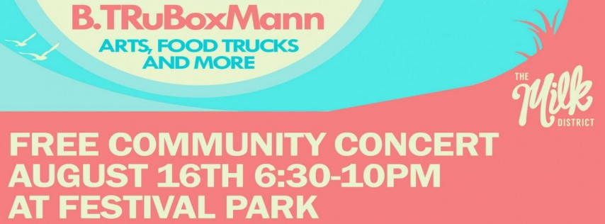 Free Concert in The Milk District
