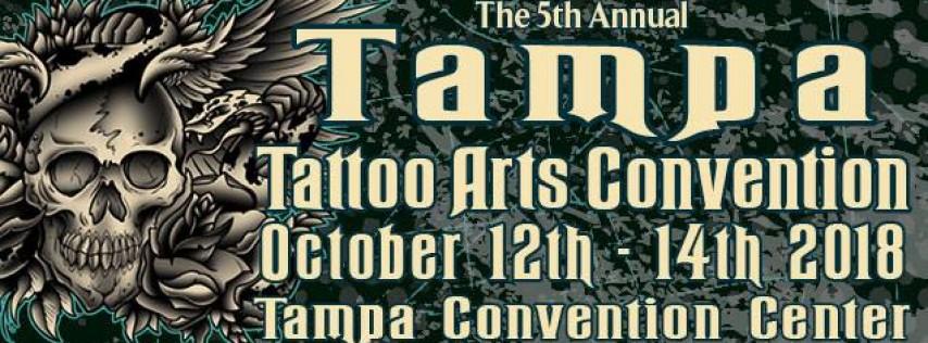 Tampa Tattoo Arts Convention 2018, Tampa FL - Oct 12, 2018 - 2:00 PM