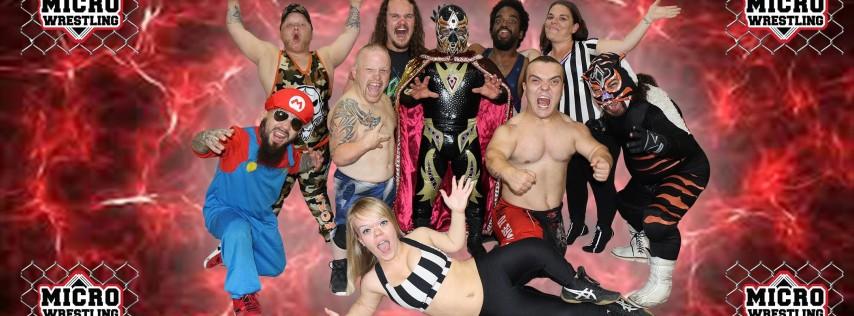 21 & Up Micro Wrestling at Jack Straws Club!