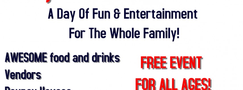 1st Annual Family fun & Community Day ANd Chili cook-off
